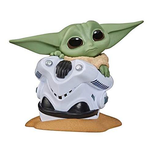 Star Wars Hasbro – F1974 The Bounty Collection: The Child Serie 2 – versteckt im Helm Pose – Sammelfigur, ca. 5cm