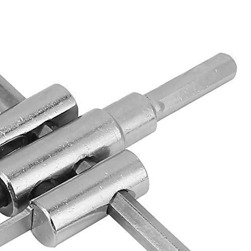 Cortador circular, cortador circular duradero para carpintería, para cobre, latón, mesa de muebles y puerta de armario, aluminio, fibra de vidrio, madera