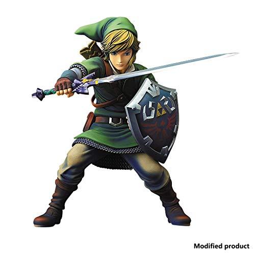 """Prodotto dalla Cina, versione modificata, diverso dalle altre versioni Scultura altamente dettagliata descrive il collegamento La figura è alta circa 8,2 """" Dal classico videogioco Zelda Vernici altamente dettagliate sulla figura (nessun armadietto es..."""