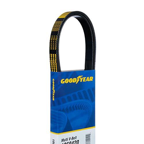 "Goodyear 1060495 Serpentine Belt, 6-Rib, 49.5"" Length"