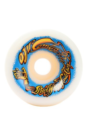 OJ II Elite Combos Skateboard Wheels, White, 60mm, 95a