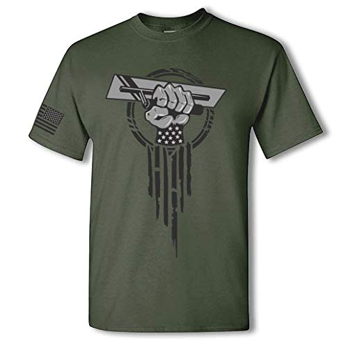 Concrete Finisher Hero Short Sleeve Tee Shirt