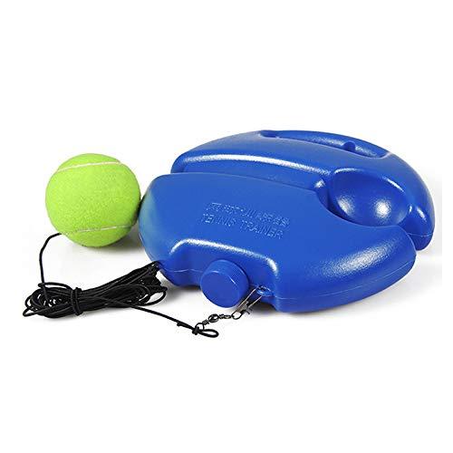 FreeLeben Professionelles Tennis-Trainingshilfswerkzeug mit elastischem Seilball-Training Selbsttätiger Rebound-Tennistrainer Partner-Sparringsgerät, Solo-Tennistrainer