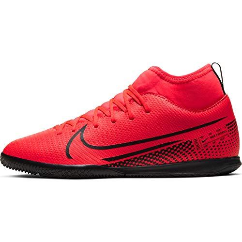 Nike Superfly 7 Club IC, Scarpe per Calcetto a Cinque, Laser Crimson Black Laser Crim, 32 EU