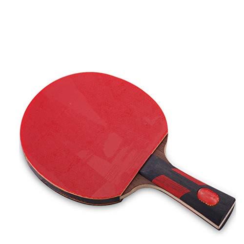 ChengBeautiful Juego De Paleta De Pong Siete Estrellas Shot Tabla Raqueta de Tenis Horizontal Mesa de Ping Pong Junta Pong Terminado Raqueta Producto Pong Raqueta de Ping Adultos Y Niños