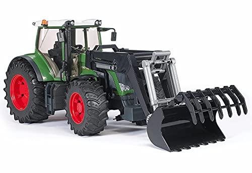 Bruder 03041 Fendt 936 Vario - Tractor con Excavadora-cargadora Frontal