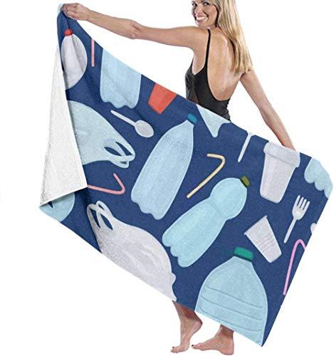 Las toallas de baño de microfibra súper suaves se utilizan para baños en interiores, piscinas de aguas termales y spa de hoteles,Manta de gran tamaño para mujeres de ducha de baño de contaminaci