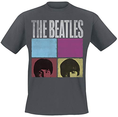 The Beatles Amplified Collection - Hard Days Night Männer T-Shirt Charcoal L