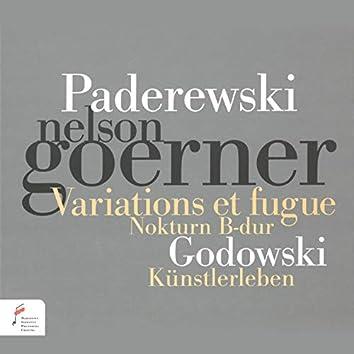 Paderewski, Godowski
