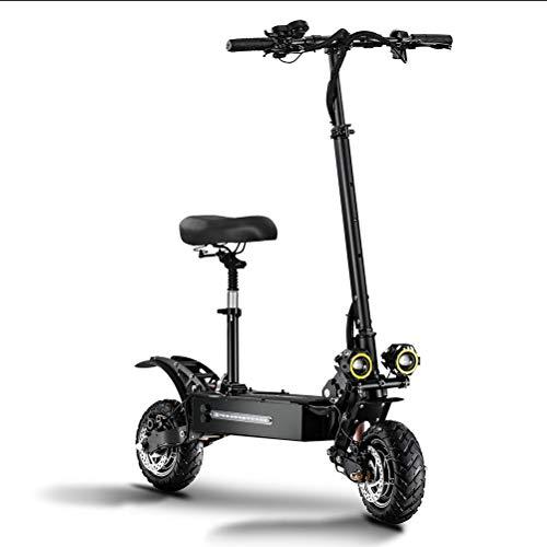 ZHHAOXINPA Mini Patinete eléctrico. Potencia máxima 5400 W, autonomía ilimitada hasta 120...
