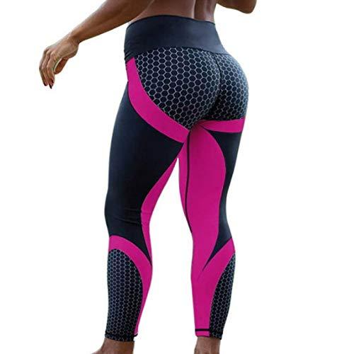 NIGHTMARE Tummy Control Pantalones de Yoga para Mujer con Cintura Alta Control de Abdomen Entrenamiento Correr Estiramiento Leggings de Yoga Entrenamiento para Correr L