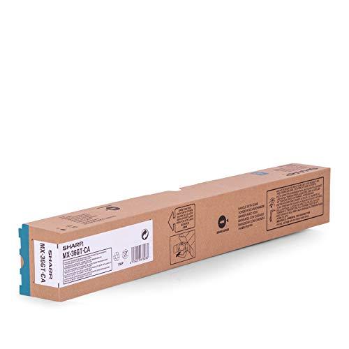 Original Sharp MX-36GTCA /, für MX-3610 N Premium Drucker-Kartusche, Cyan, 15000 Seiten