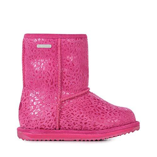 EMU Australia Leopard Brumby Kids Wool Waterproof Boots Size 12 EMU Boots