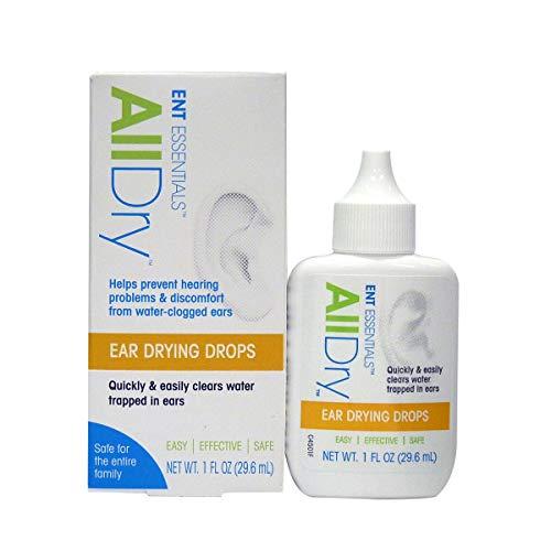 ENT Essential All Dry Ear Drying Drops - 1 FL OZ - Drying Ear Drops
