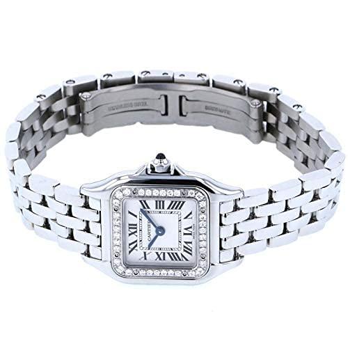 カルティエ Cartier パンテール ドゥ SM W4PN0007 シルバー文字盤 腕時計 レディース (W208938) [並行輸入品]