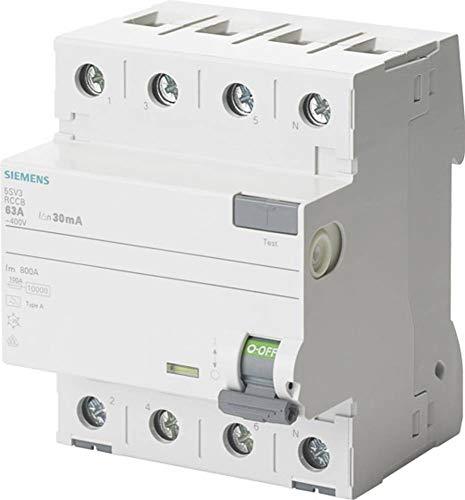 Siemens FI kurzzeitverz gert 63A 30ma
