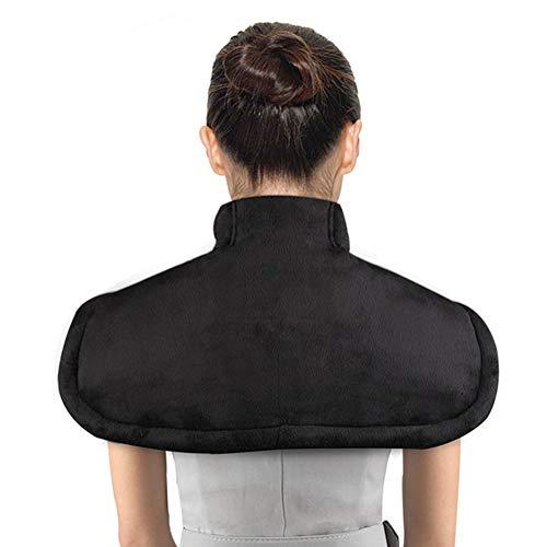 MOXIN Heizkissen Für Rücken Schulter Nacken, Mit 3 Heizstufen Und Massage, Mit Schneller Erwärmung Zur Linderung Von Muskelschmerzen