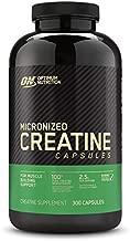 Optimum Nutrition Micronized Creatine Monohydrate Capsules, Keto Friendly, 2500mg, 300 Capsules (Packaging May Vary)