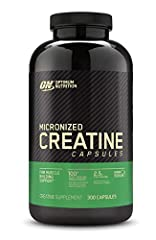 2.5g pure creatine monohydrate per serving Supports muscle size, strength, and power when combined with high intensity activities Convenient capsules 2 cap serving size makes taking creatine quick and easy without the need to mix a powder into a liqu...