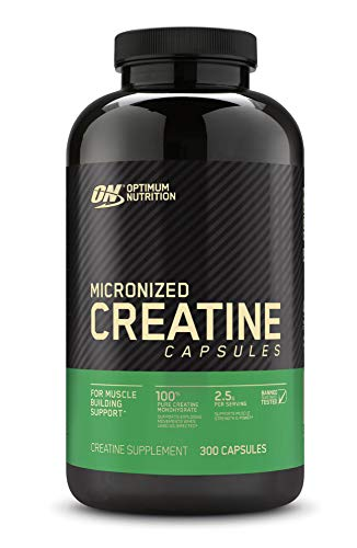 Optimum nutrition micronized creatine monohydrate capsules image
