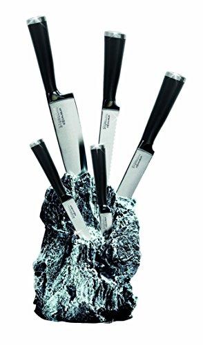 STONELINE® Excalibur® Messerblock, bestückt, 6-teilig