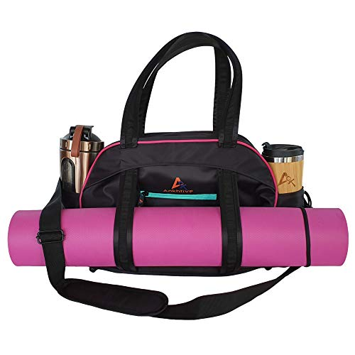 ANKHTIVE Casual Gym Bag for Women with Wet Pocket. Great for Pilates, Yoga & Fitness. from Ankhtive Sports & Outdoor
