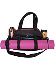 ANKHTIVE Casual Gym Bag for Women with Wet Pocket. Great for Pilates, Yoga & Fitness.