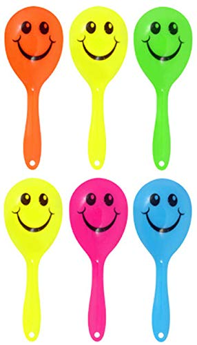24X mini smiley maracas- Super pochette surprise