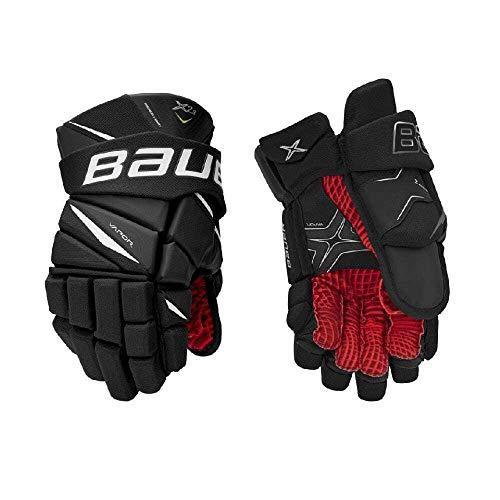 Bauer Vapor X2.9 Handschuh Junior, Größe:10 Zoll, Farbe:schwarz/weiß