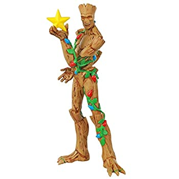 Hallmark Keepsake Ornament 2020 Marvel Guardians of the Galaxy O Christmas Groot Superhero Ornament