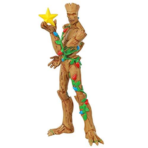 Hallmark Keepsake Ornament 2020, Marvel Guardians of the Galaxy O Christmas Groot Superhero Ornament