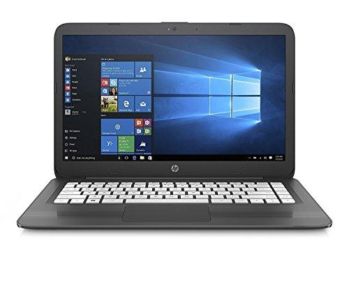 2018 HP High Performance 14in HD laptop   Intel Dual-Core Celeron N3060 up to 2.48GHz   4GB RAM   32GB SSD   Wifi   HDMI   USB 3.0   Webcam   No Optical   Windows 10 (Renewed) (Black)