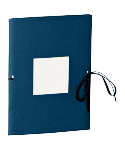 Semikolon (351526) Fotoheft Photo Booklet Portrait marine (blau) -Fotoalbum mit 20 cremefarbenem Seiten - Mini Foto-Buch im Format: 14 x 19 cm