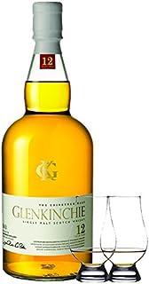 Glenkinchie 12 Jahre Single Malt Whisky 0,7 Liter  2 Glencairn Gläser
