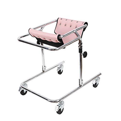 YUXINCAI Andador con Ruedas para Rehabilitación Infantil, Andador Vertical Plegable con Ruedas, Adecuado para Una Altura De 80-120 Cm, para Pacientes Discapacitados Y con Movilidad Limitada