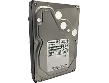 Toshiba MG04ACA400N 4TB 64MB Cache 7200RPM SATA III 6.0Gb/s 3.5  Internal Enterprise NAS Hard Drive  Renewed