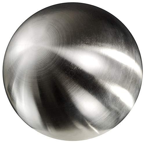 Edelstahlkugel Rosenkugel Gartenkugel Gartenteichkugel Dekokugel Edelstahl matt (300 mm / 30 cm)