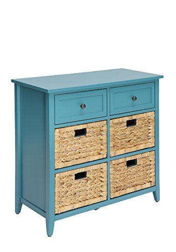 ACME Flavius Console Table - - Teal