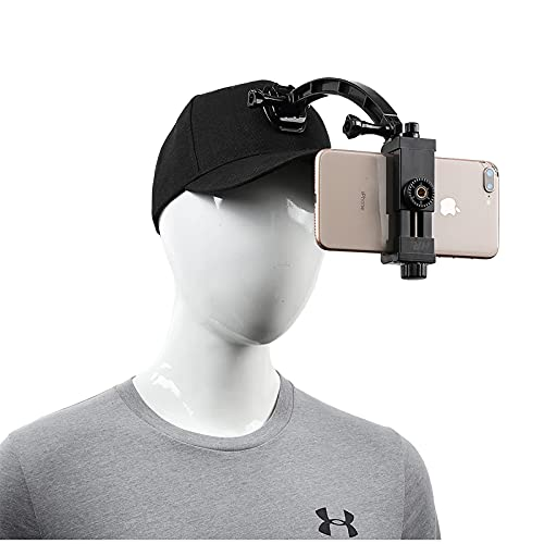 Infuu Holders Tapa para teléfono móvil con clip para cámara POV GoPro Xiaomi Huawei Samsung iPhone Plus 011