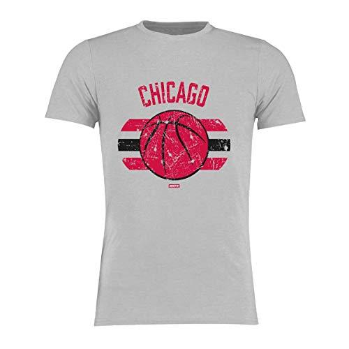 BRAYCE® Chicago T-Shirt I Basketball Shirt Größe S - 3XL I Basketballkleidung für Basketballspieler und Fans (XXL)
