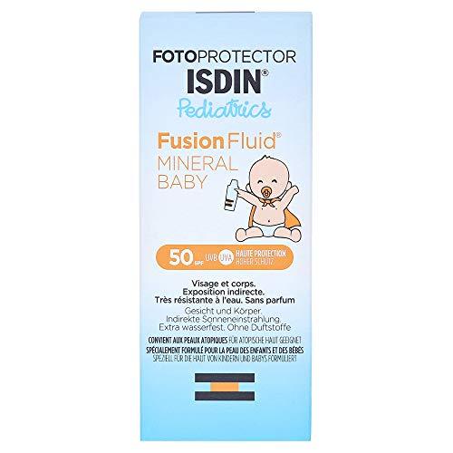 Isdin - Fotoprotector Pediactrics Fusion Fluid Mineral Baby Spf50+ Des La Naissance Isdin 50ml
