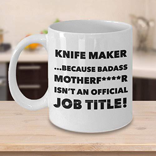 Rael Esthe Divertida Taza de café para Hacer Cuchillos - Regalos Atractivos Cuchillos - Idea Cuchillos de Sarcasmo de Humor Lindo y Divertido para Prem