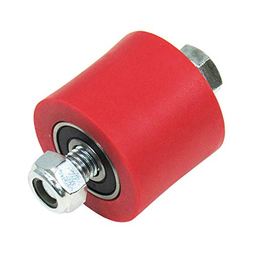 Outlaw Racing OR3074R Chain Roller Guide 34X28mm Red Predator 500 Trx250X Mx125
