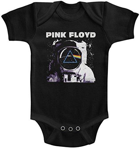 Générique Pink Floyd - - Unisex-Baby Prism Onesie, 12M, Black