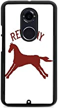 Red Pony Image Black Hardshell Case by Trendy Accessories for Moto X2