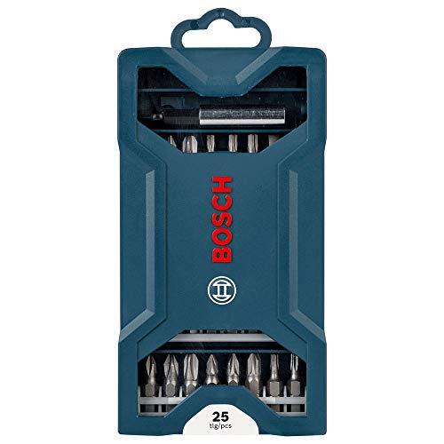 Kit de pontas para parafusar Bosch Mini X-Line com 25 peças