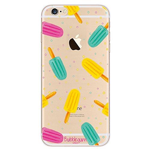Carcasa para iPhone, diseño de alimentos, material de TPU y gel, de la marca Bubblegum., Ice Lolly, iPhone 6 6s