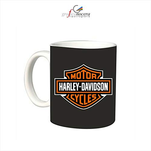 Tazza Harley Davidson Moto Motorcyclist passione lavabile alta qualità regalo