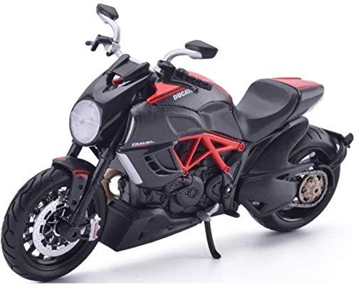 1yess Modell Motorrad Modell 1/12 Spielzeug, bestes Geschenkrätsel 8bayfa