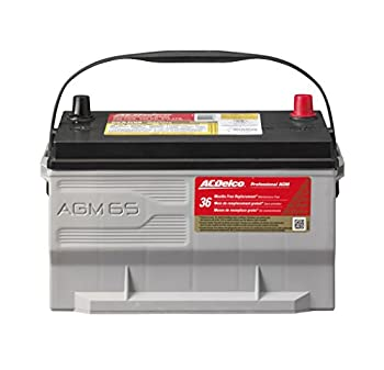 ACDelco 65 AGM Professional AGM and Automotive BCI Group 65 Battery